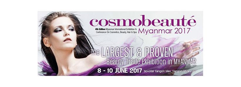 Cosmobeaute in Myanmar 2017   K1MED Co , Ltd